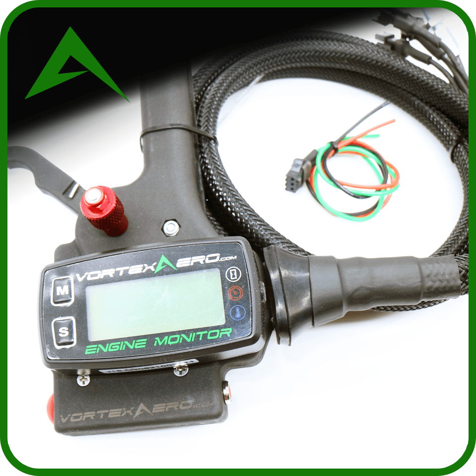 Vortexaero XC Electric Start Throttle-Complete Kit (Throttle + Fuel Sensor + Meter)