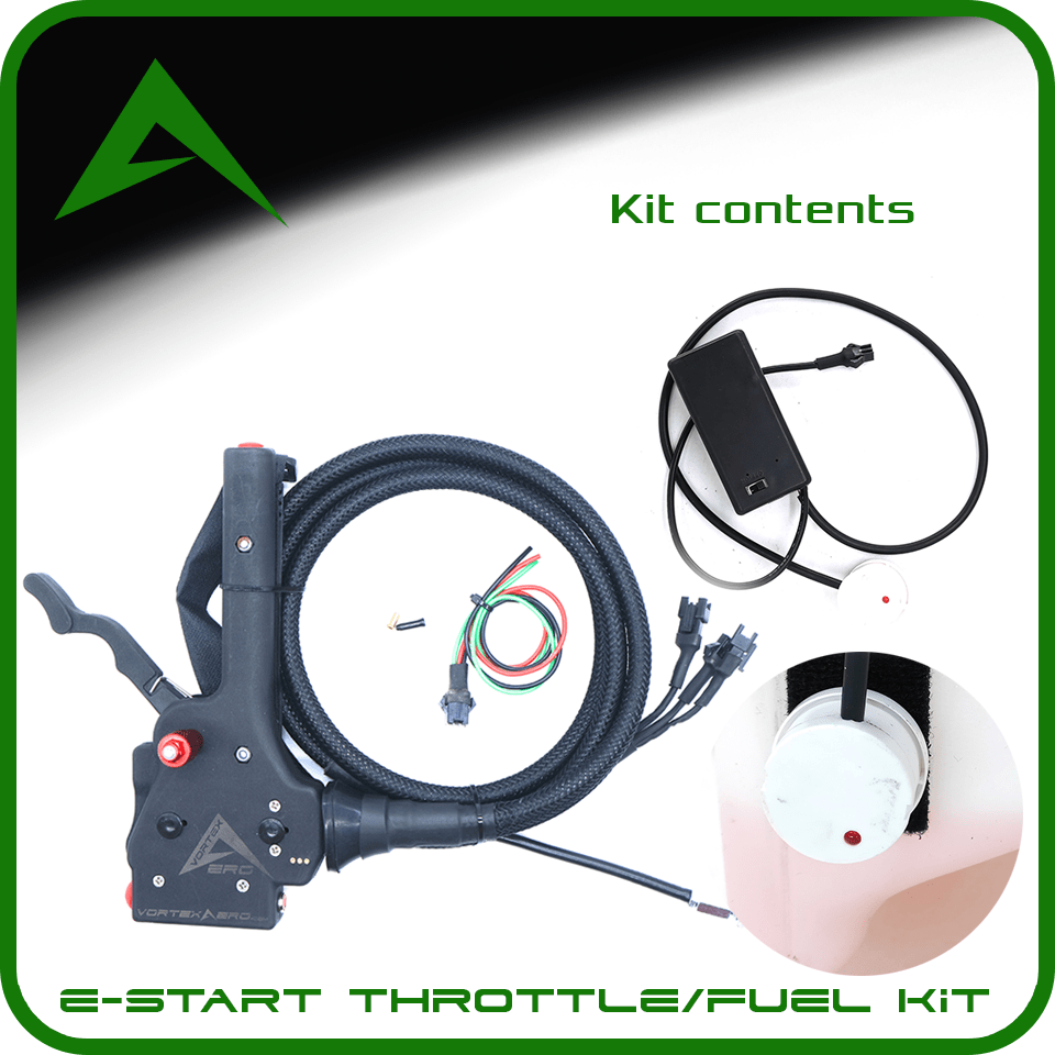 Vortexaero XC Electric Start Throttle-Fuel Sensor Kit (Throttle + Fuel Sensor ONLY)