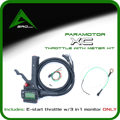 Vortexaero XC Electric Start Throttle-Meter Kit (Throttle + Engine monitor only)