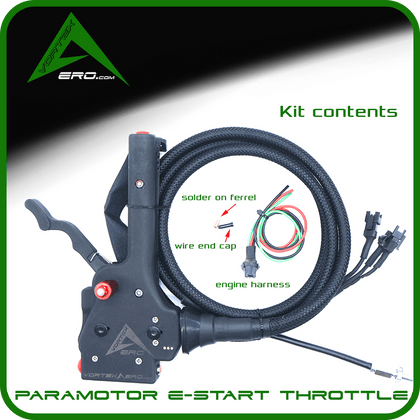 Vortexaero XC Electric Start Throttle Only
