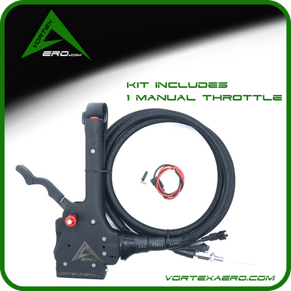 Vortexaero XC Manual Start Throttle ONLY