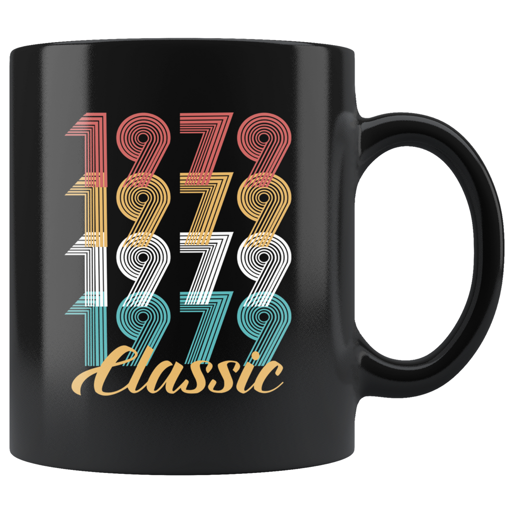40th Birthday Gift Vintage 1979 40 Year Old Mug Coffee