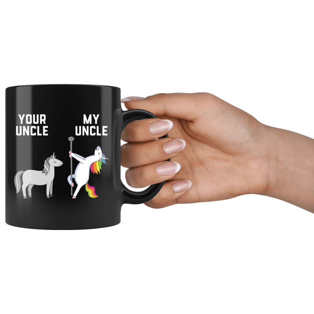 Your Uncle My Uncle You Me Dancing Unicorn Mug Coffee