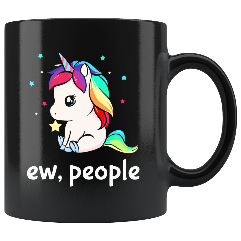 Ew People Unicorn Mug Cup Coffee