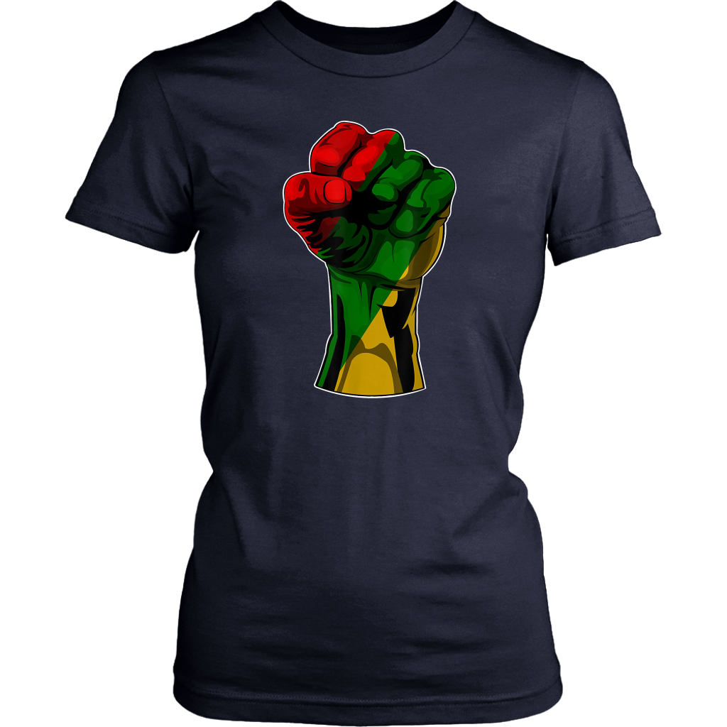 Fist Strong Black History Month T Shirt