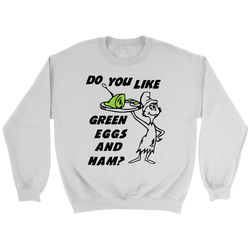 Do you like green eggs and ham shirts