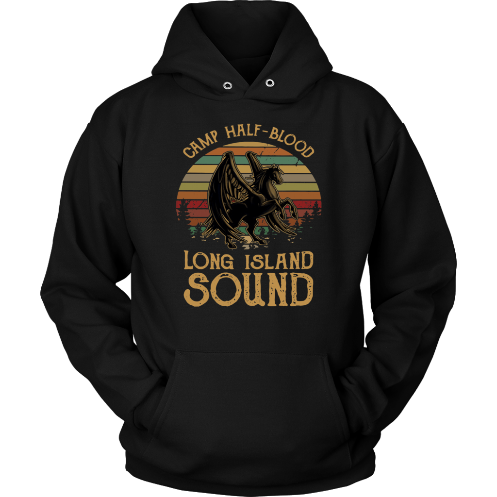 Retro Percy Jackson Camp half-blood long island sound shirt