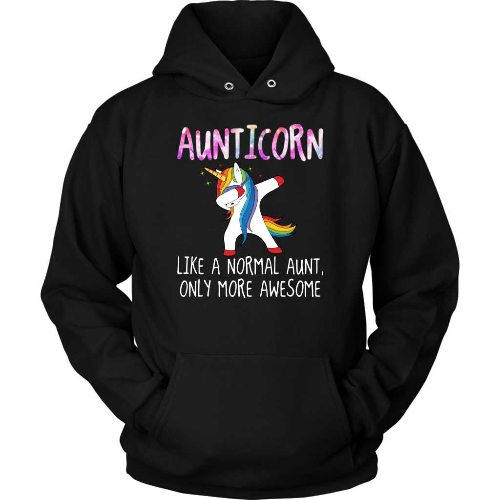 Aunticorn Like a Nomarl Aunt Only More Awesome Dabbing Unicorn shirt