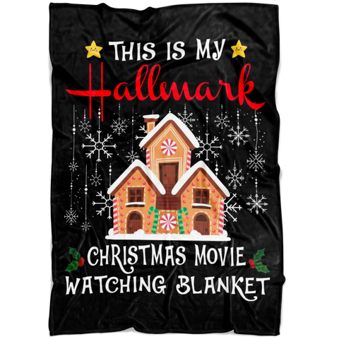 This is My Hallmark Christmas Movie Watching Blanket Funny Gift