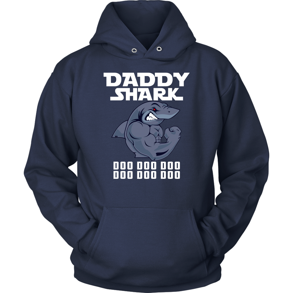 Daddy Shark Doo Doo Doo T-Shirt Funny Matching Family