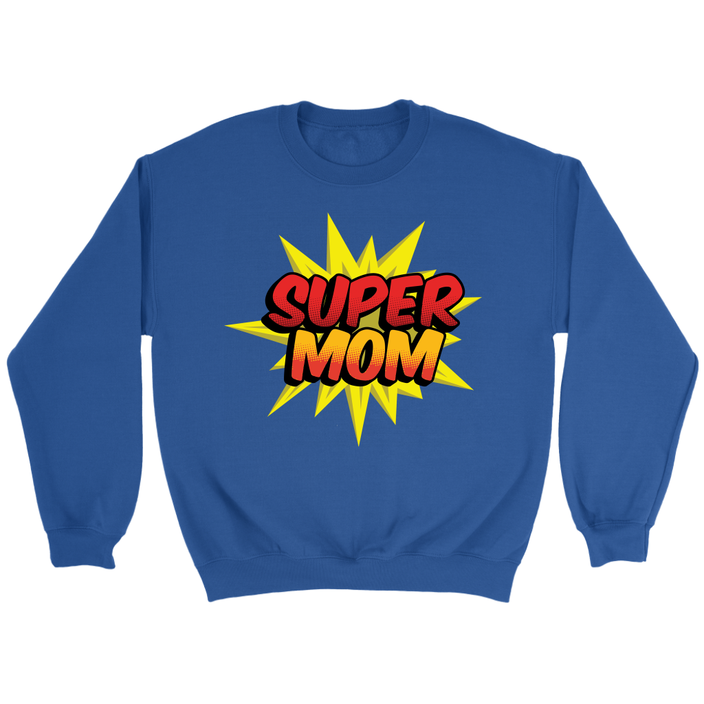 Supermom Superhero T Shirts Mom Mother Gift
