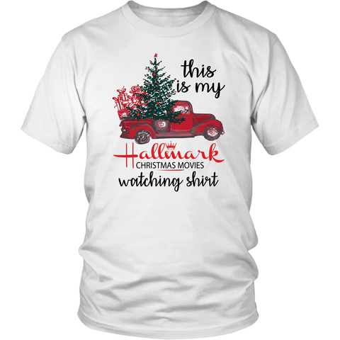This is My Hallmark Christmas Movie Watching Shirt Funny Costume Christmas