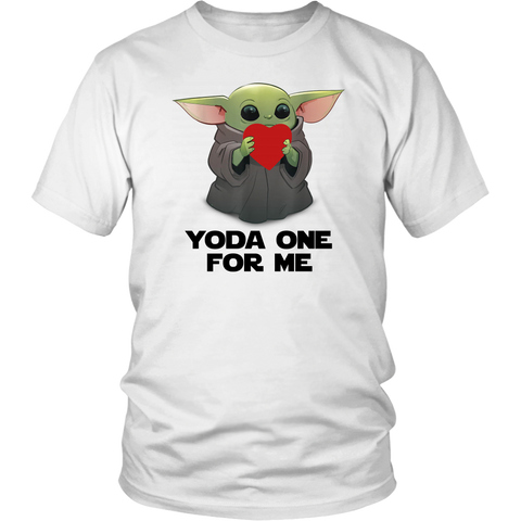 Baby Yoda Heart Yoda One For Me shirts