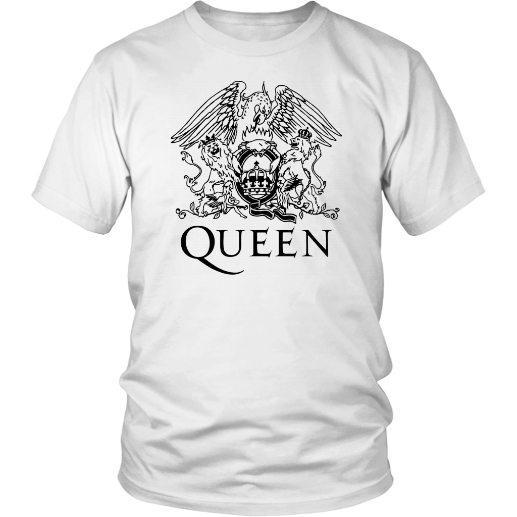 Classic Queen Band Royal Crest Tshirt