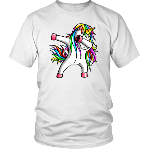 Dabbing Unicorn Mom Rainbow shirts Mother Gift