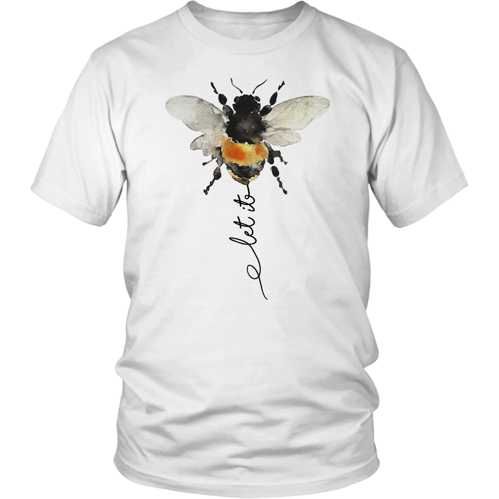 Hippie Let it Bee shirt funny