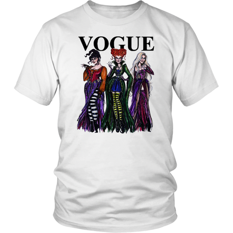 Halloween Hocus Pocus Vogue Squad T Shirts