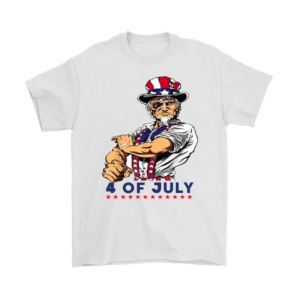 Uncle Sam Patriotic 4th of July shirt
