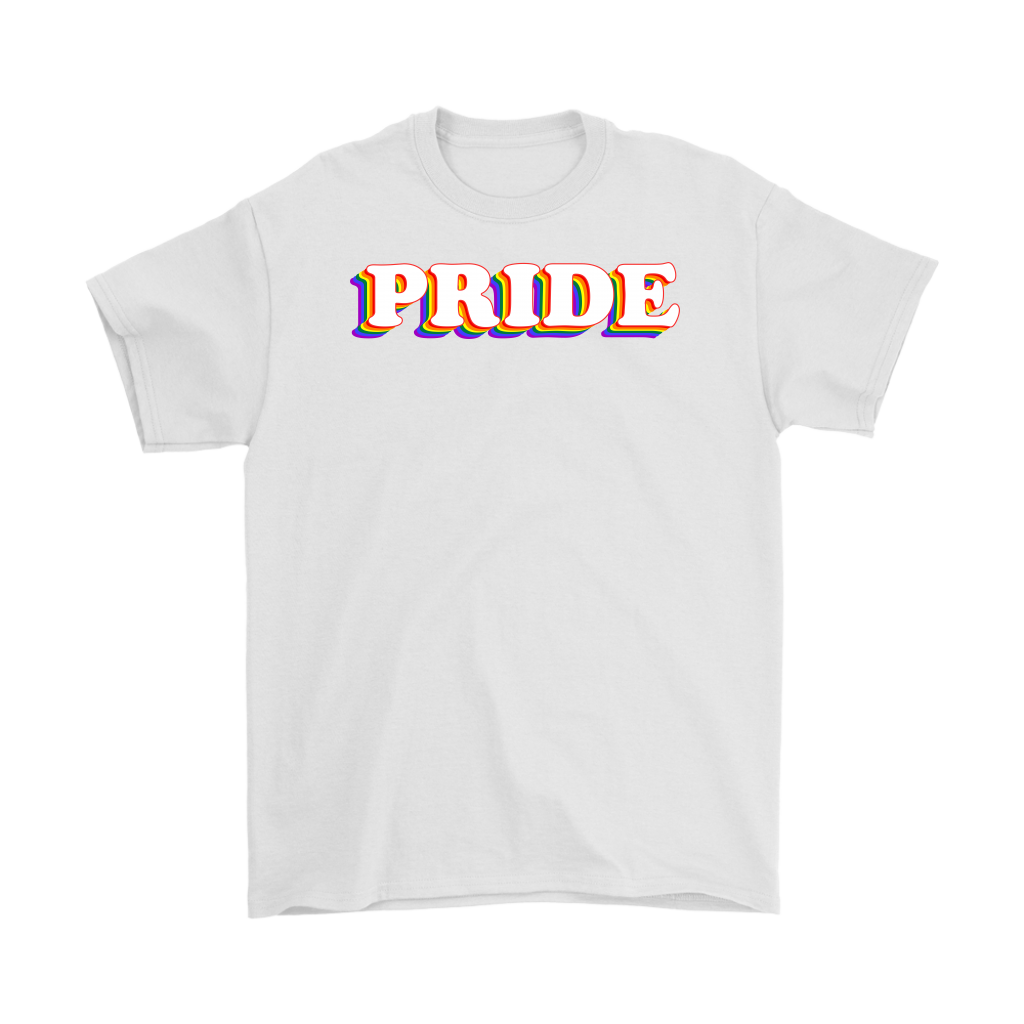 Celebrating Pride Rainbow LGBT Gay Shirt