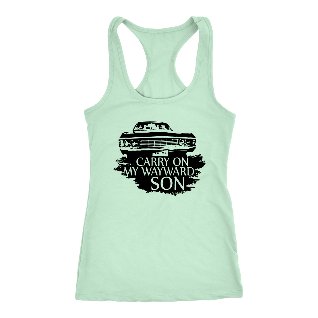Vintage Classic Car Carry on My Wayward Son Tshirt