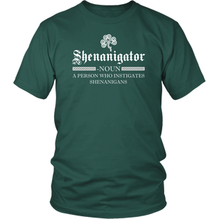 Irish Shenanigator Definition T-Shirt