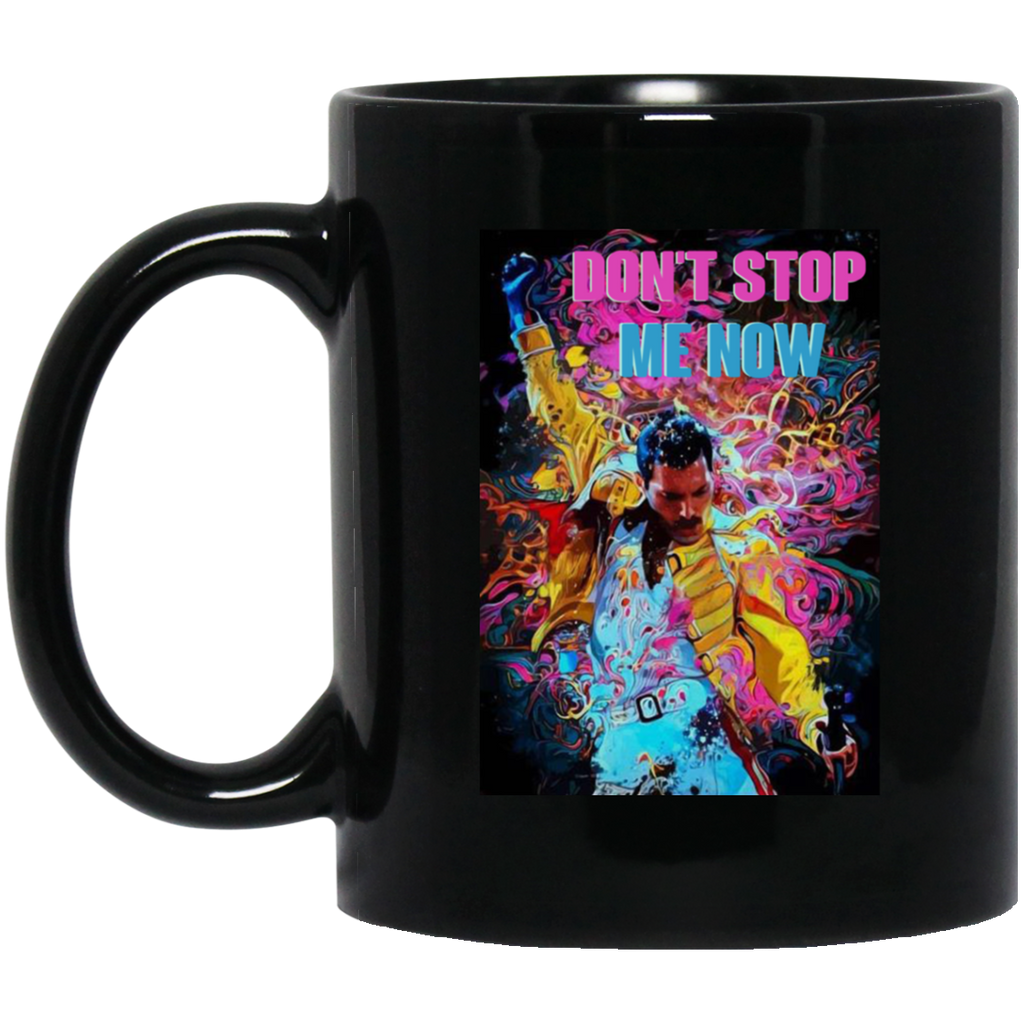 Freddie Mercury Don't Stop Me Now Mug Coffee