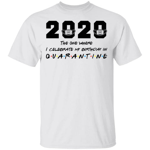 The One Where I Celebrate My Birthday In Quarantine 2020 shirts