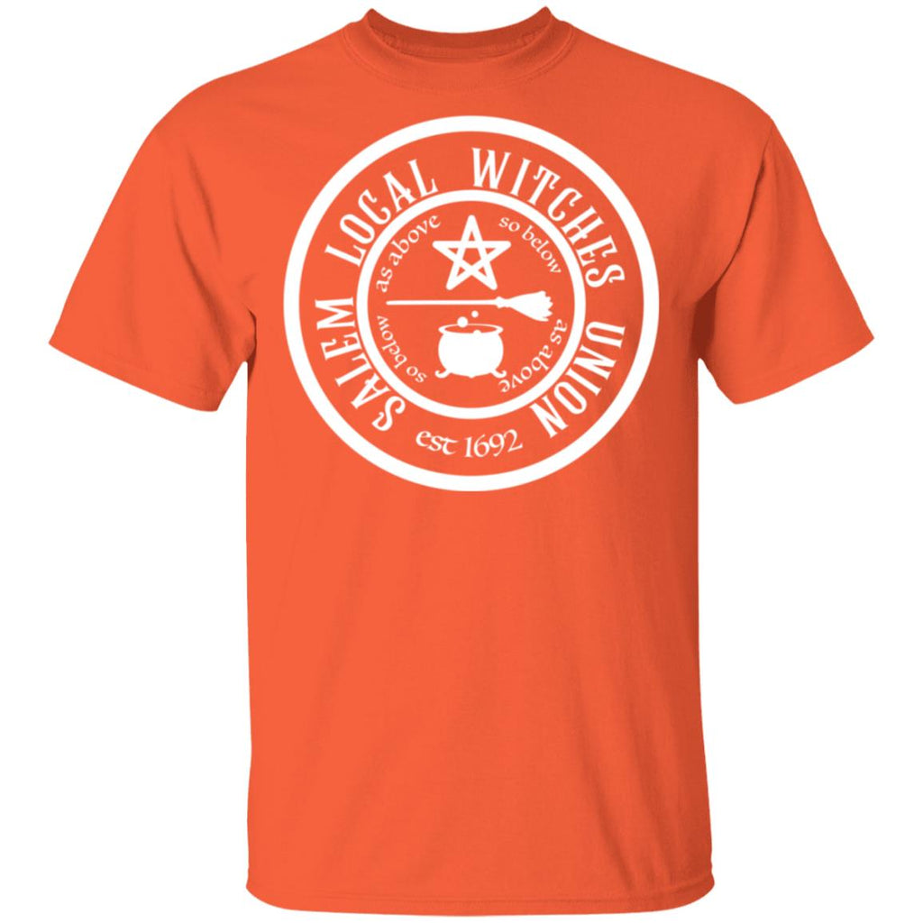 Funny Halloween Salem Local Witches Union est 1692 shirts