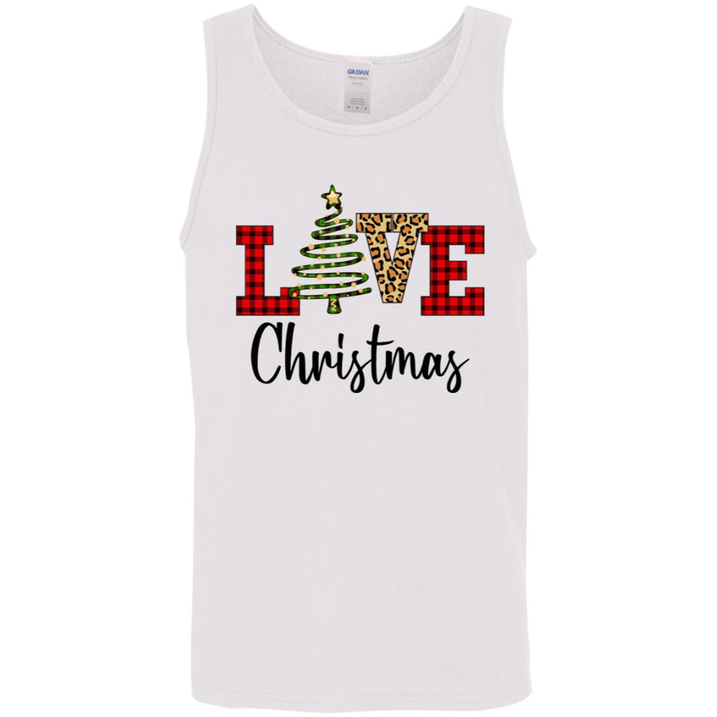 Love Christmas Leopard Buffalo Plaid Funny shirts