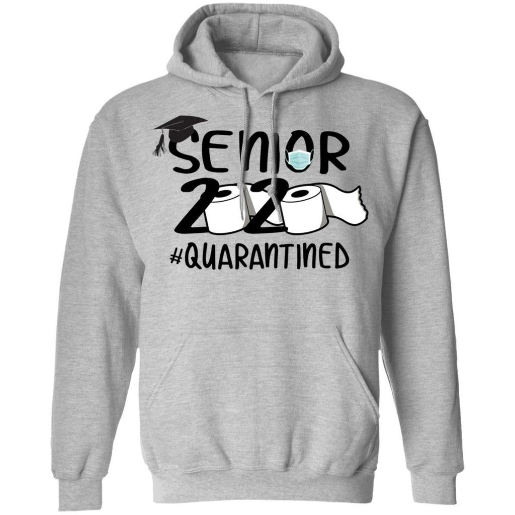 Senior 2020 Quarantined Toilet Paper Funny shirts