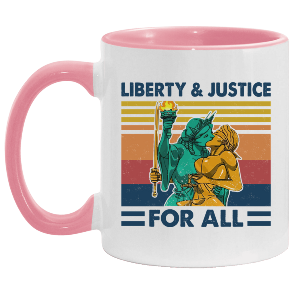 Liberty and Justice For All Mug