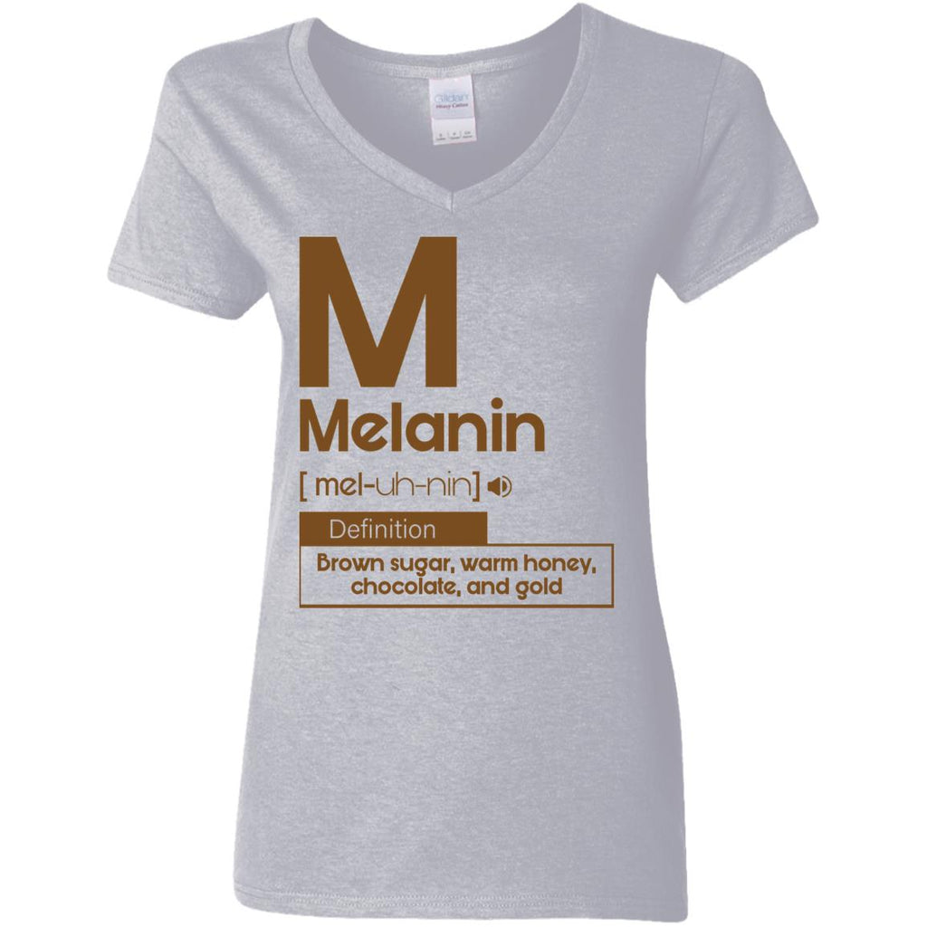 Melanin Definition Brown Sugar Warm Honey Chocolate And Gold shirts