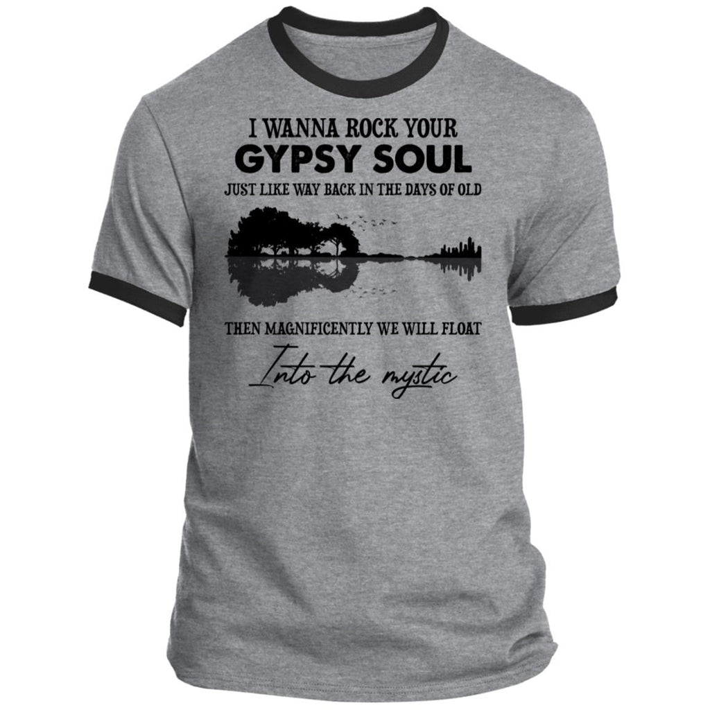 I Wanna Rock Your Gypsy Soul Guitar shirts