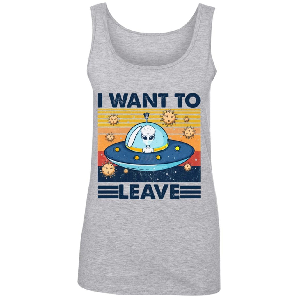I Want To Leave Alien Vintage shirts