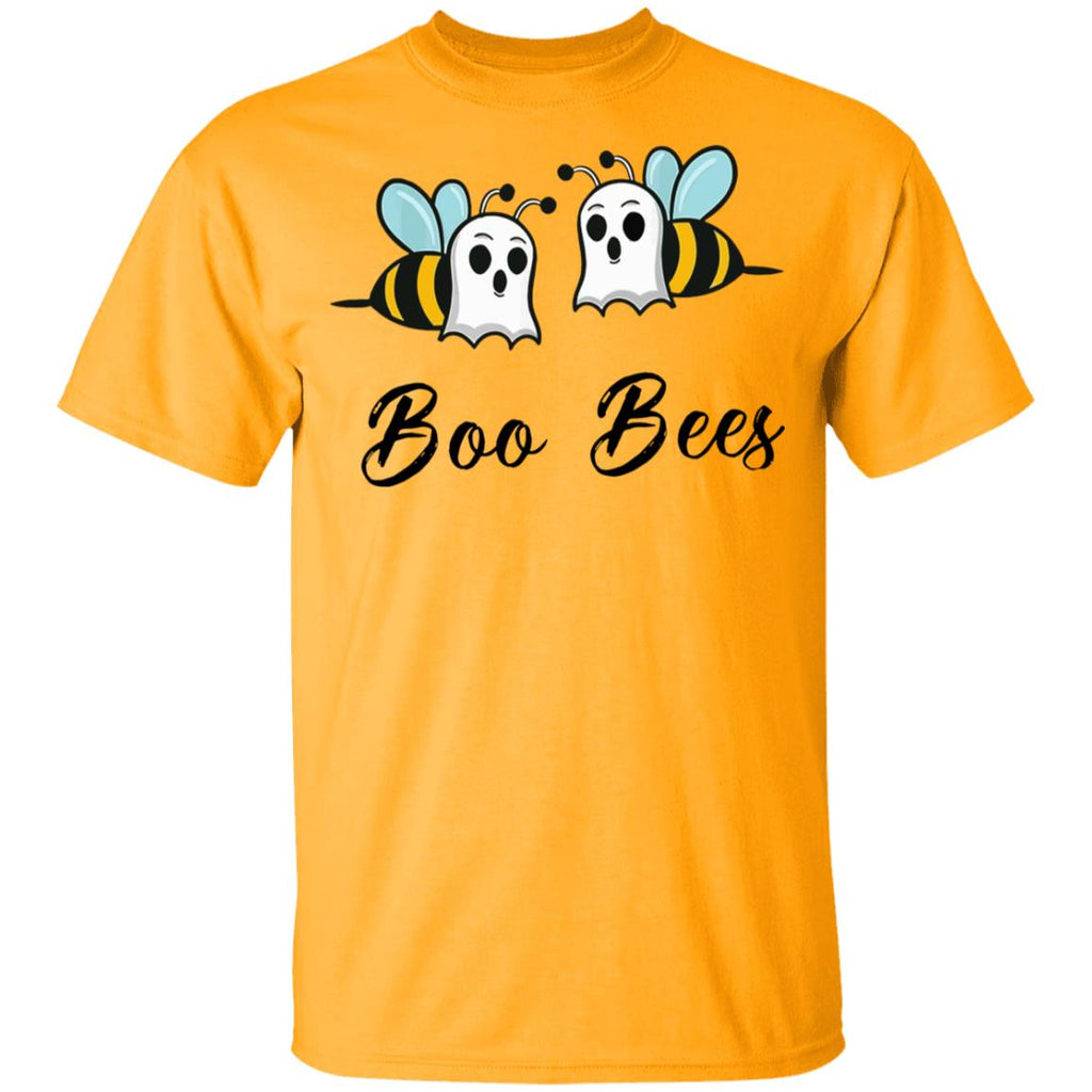 Funny Ghost Boo Bee Couples Halloween Shirts