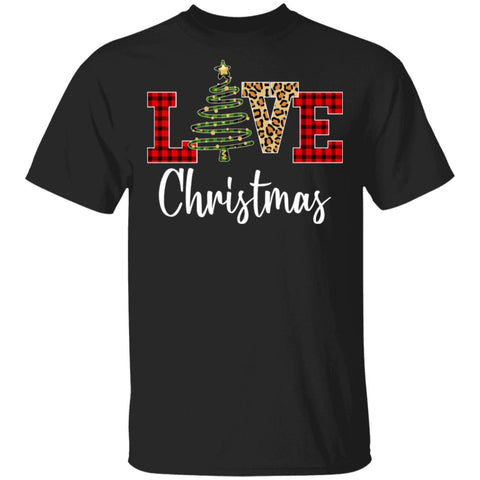 Love Christmas Plaid Funny Christmas