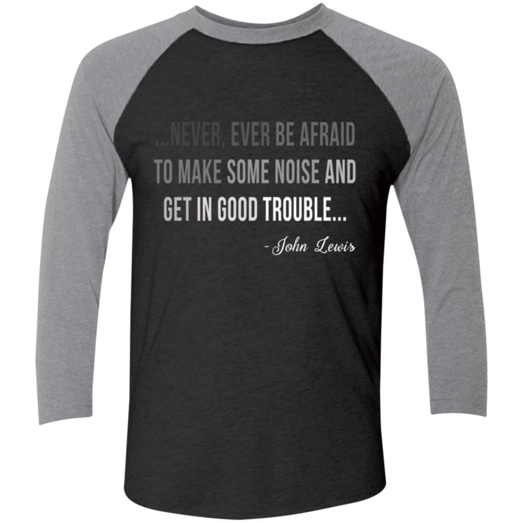 Congressman Lewis Civil Rights Hero Quote shirts