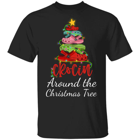 Crocin Around The Christmas Tree Funny Christmas 2020 shirts