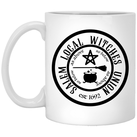Salem Local Witches Union est 1692 Funny Halloween Mug Coffee