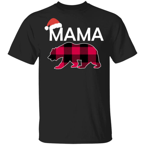 Mama Bear Buffalo Plaid Christmas Shirts