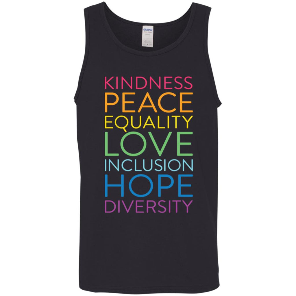 Peace Love Inclusion Equality Diversity Human Rights shirts