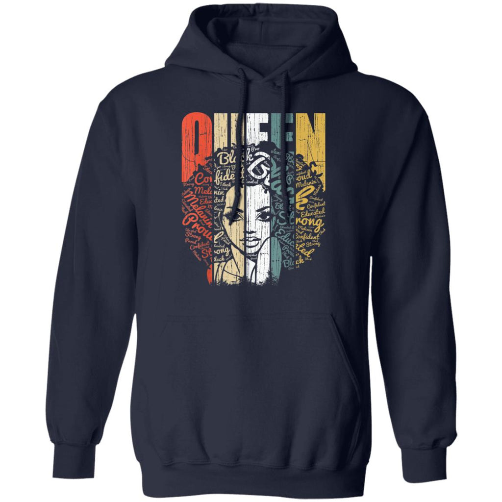 African American Shirt for Educated Strong Black Woman Queen TShirt