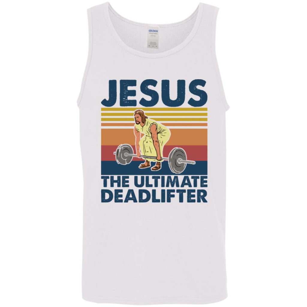 Jesus The Ultimate Deadlifter Weight Lifting shirts