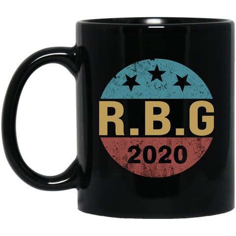 Vintage Notorious RBG Ruth Bader Ginsburg 2020 Never Forget Fan Mug Coffee