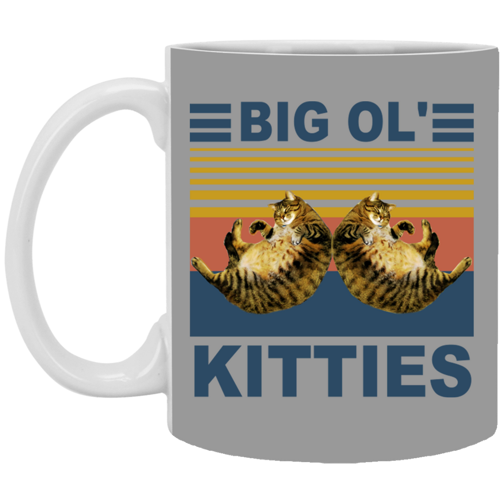 Cat Big Ol' Kitties Mug Coffee