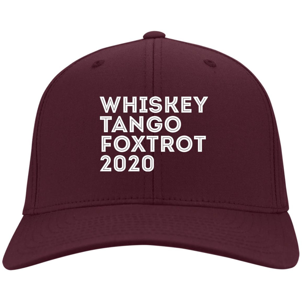 Whiskey Tango Foxtrot 2020 Funny WTF 2020 Phonetic Hat Cap