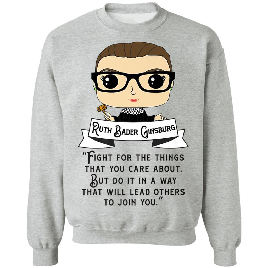 Cute RBG Ruth Bader Ginsburg Fight for the Things shirts