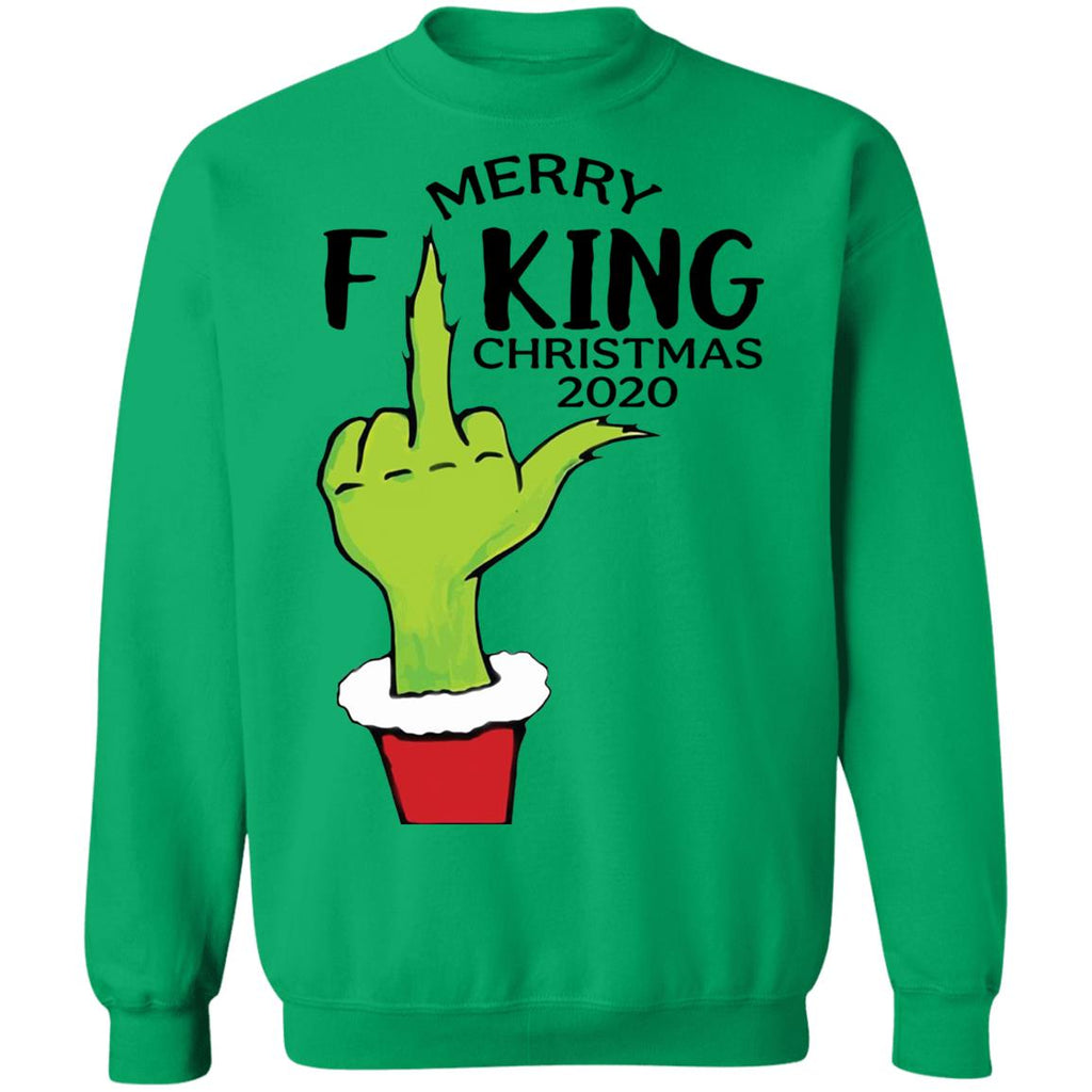 Merry Fucking Christmas 2020 Grinch Hand shirts