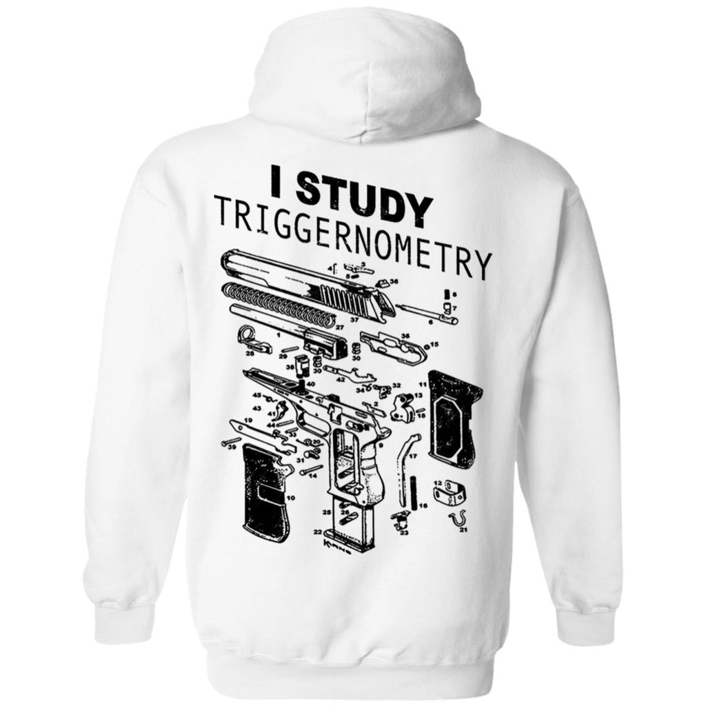 I Study Triggernometry Shirts on back side