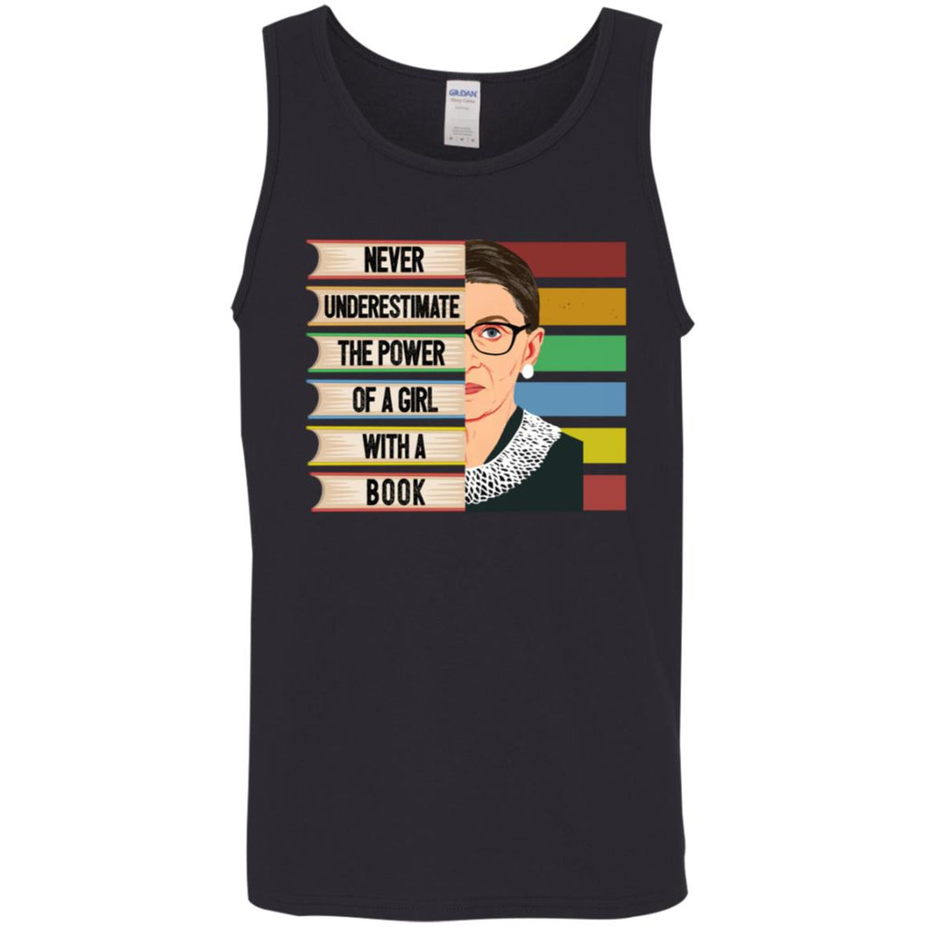 Feminist Ruth Bader Ginsburg Rbg Quote Girl With Book shirts